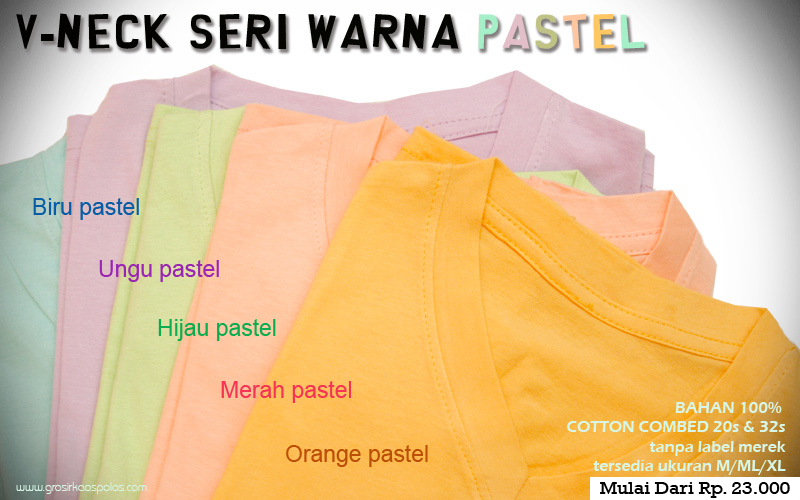 vinex pastel warna gigz clothing